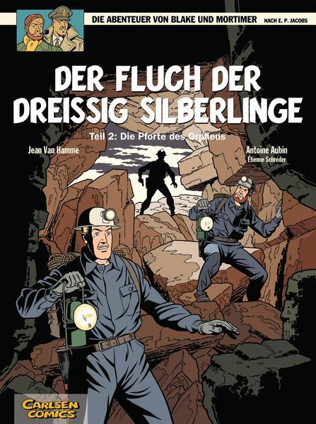 Blake & Mortimer, Band 17: Der Fluch der dreißig Silberlinge, Teil 2 - Coverbild