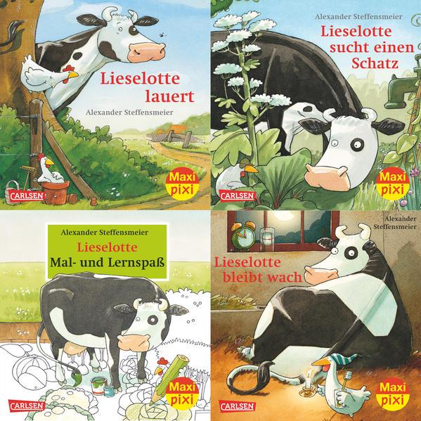 Maxi-Pixi-Serie Nr. 33: 4er Bundle: Lieselotte - Coverbild