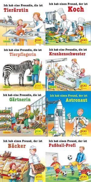 Pixi-Bundle 8er Serie 242: Meine Lieblingsberufe Laden Sie PDF-Ebooks Herunter