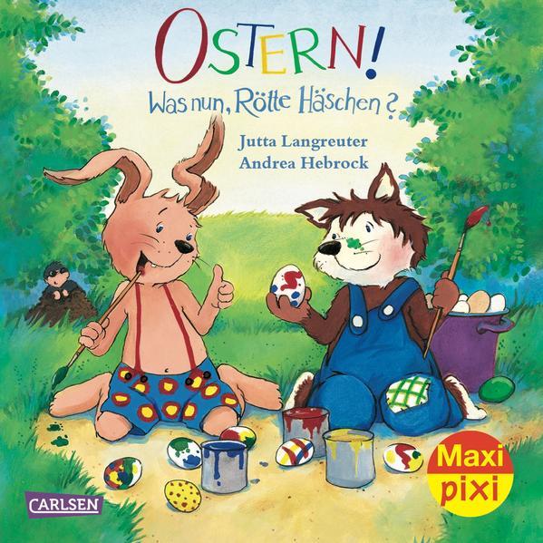 Maxi-Pixi Nr. 124: Ostern! Was nun, Rötte Häschen? - Coverbild