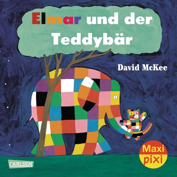 Maxi-Pixi Nr. 156: Elmar und der Teddybär - Coverbild