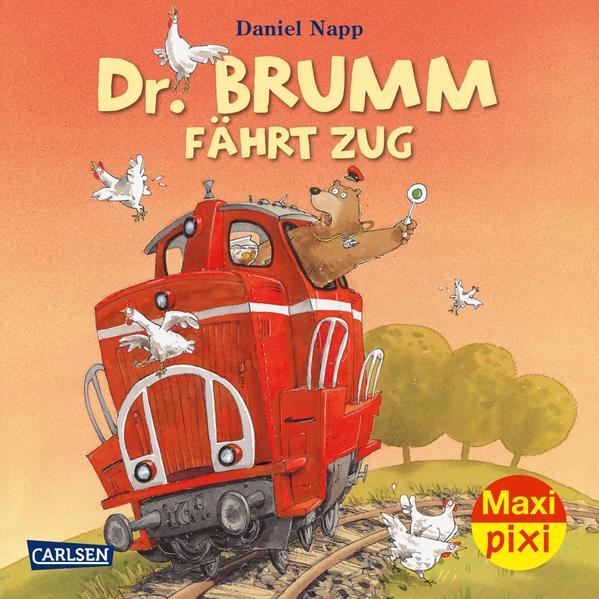 Maxi-Pixi Nr. 161: Dr. Brumm fährt Zug - Coverbild