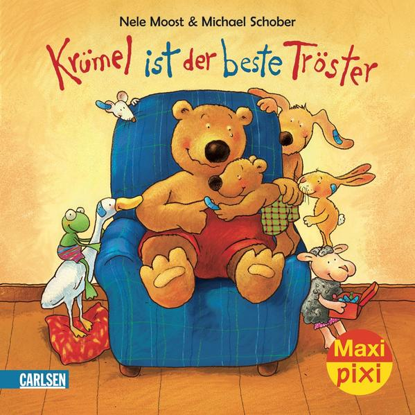 Maxi-Pixi Nr. 25: VE 5 Krümel ist der beste Tröster - Coverbild