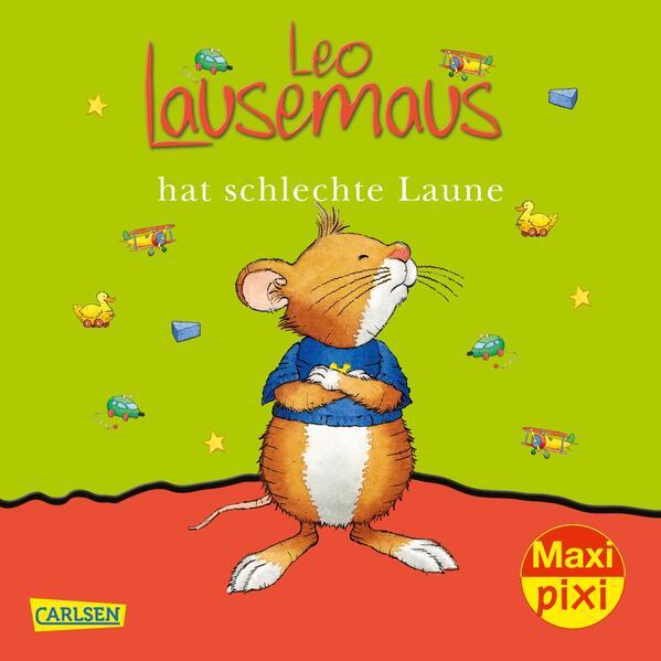 Maxi-Pixi Nr. 109: VE 5 Leo Lausemaus hat schlechte Laune - Coverbild