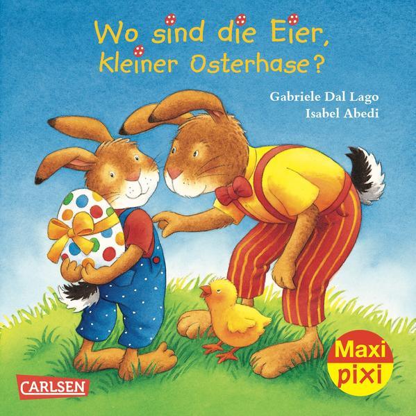 Maxi-Pixi Nr. 122: VE 5 Wo sind die Eier, kleiner Osterhase? - Coverbild