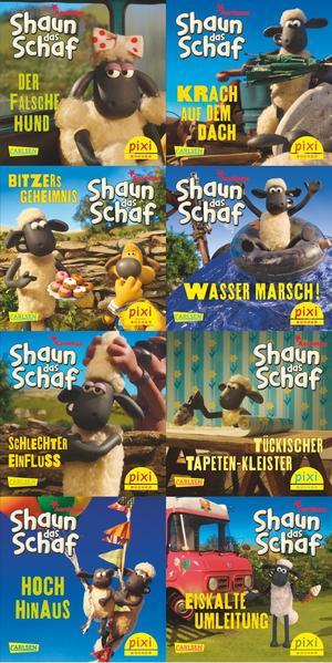 Pixi-Serie Nr. 228: Shaun das Schaf ist nicht zu bremsen - Coverbild