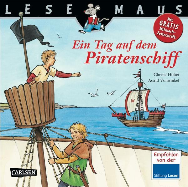 LESEMAUS, Band 114: Ein Tag auf dem Piratenschiff - Coverbild