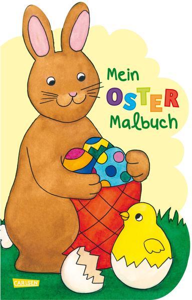 Mein Oster-Malbuch (Osterhase) - Coverbild