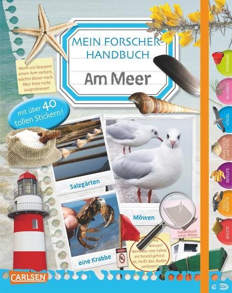 Mein Forscherhandbuch - Am Meer - Coverbild