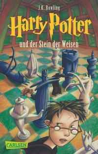 Harry Potter 1: Harry Potter und der Stein der Weisen Cover