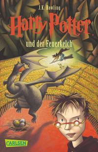 Harry Potter 4: Harry Potter und der Feuerkelch Cover