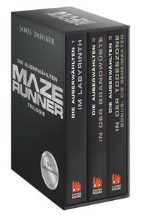 Maze Runner-Trilogie - Die Auserwählten Cover
