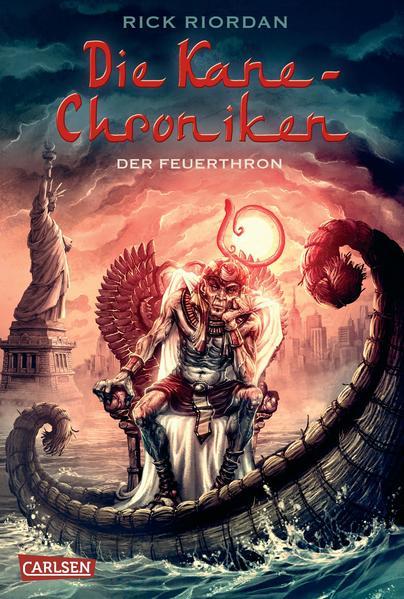 Die Kane-Chroniken 2: Der Feuerthron - Coverbild