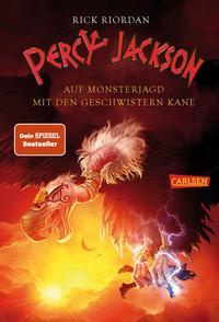 Percy Jackson: Percy Jackson - Auf Monsterjagd mit den Geschwistern Kane Cover