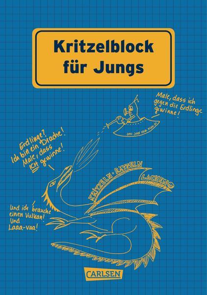 Kritzelblock für Jungs - Coverbild