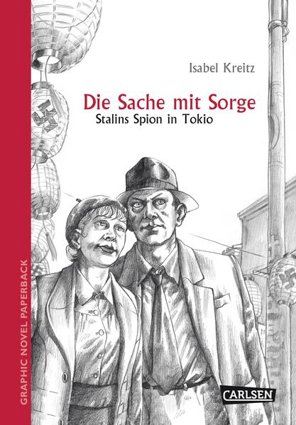 Graphic Novel paperback: Die Sache mit Sorge - Coverbild