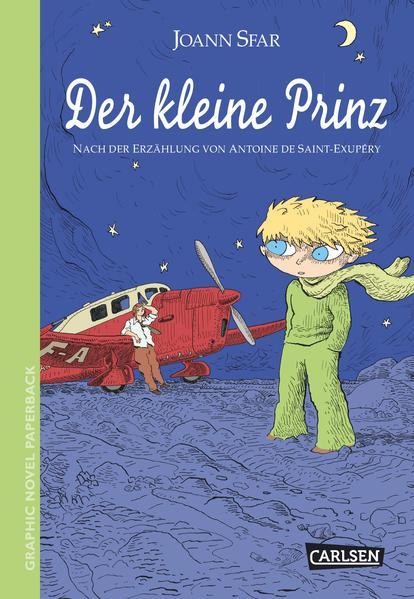 Graphic Novel paperback: Der kleine Prinz - Coverbild