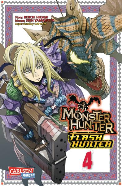 Monster Hunter Flash Hunter, Band 4 - Coverbild