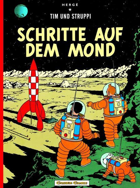 Tim & Struppi, Band 16: Schritte auf dem Mond - Coverbild