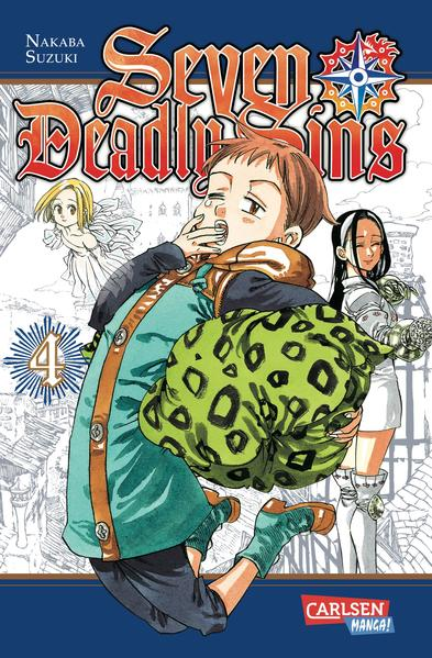 Seven Deadly Sins, Band 4 - Coverbild
