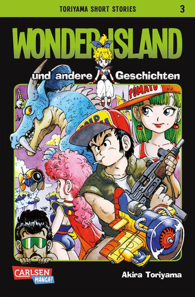 Toriyama Short Stories 3 - Coverbild