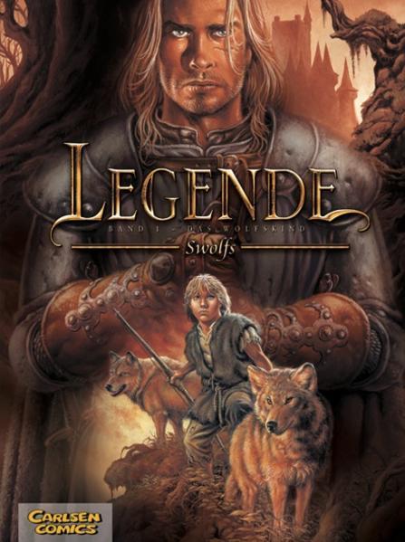 Legende, Band 1: Das Wolfskind - Coverbild
