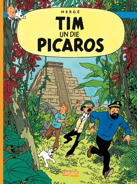 Tim und Struppi Dialektausgabe, Band 1: Tim un die Picaros - Coverbild