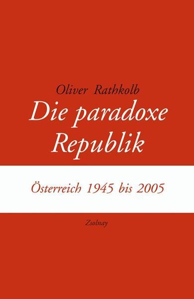 Die paradoxe Republik - Coverbild