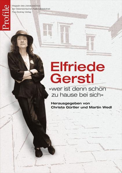 Profile 19, Elfriede Gerstl - Coverbild