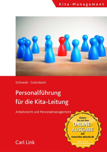 Personalführung für die Kita-Leitung - Coverbild