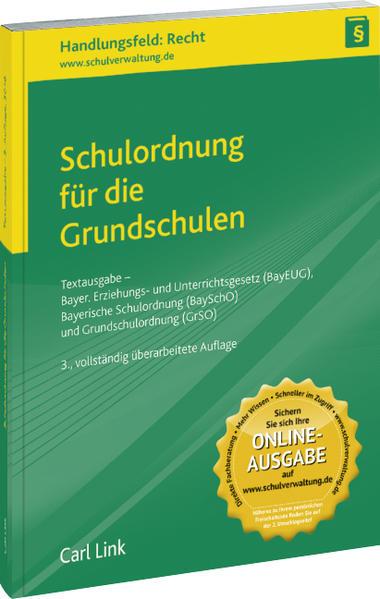 Schulordnung für die Grundschulen  - Coverbild