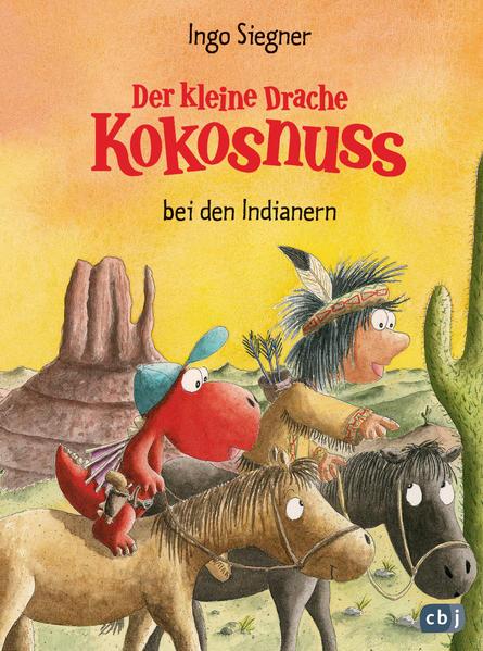 Der kleine Drache Kokosnuss bei den Indianern - Coverbild