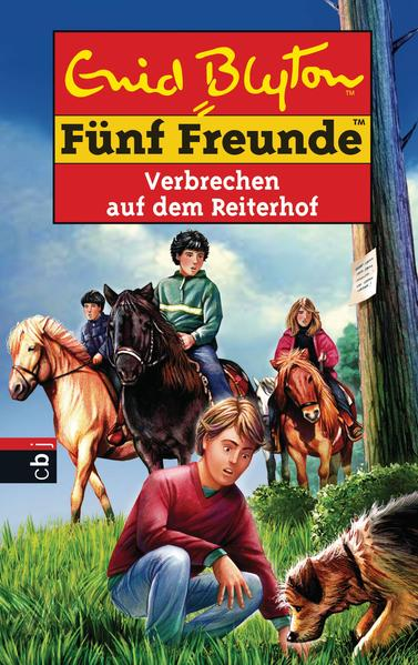 Fünf Freunde - Verbrechen auf dem Reiterhof - Coverbild