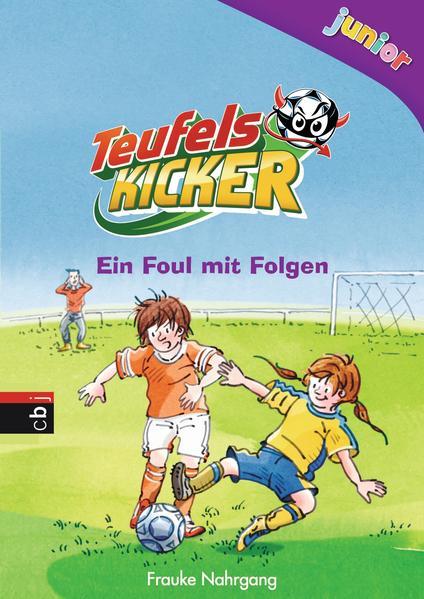 Teufelskicker Junior  - Ein Foul mit Folgen - Coverbild