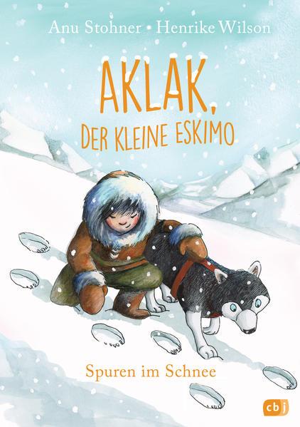 Aklak, der kleine Eskimo - Spuren im Schnee - Coverbild