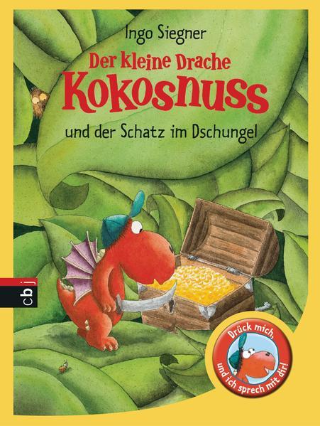 Der kleine Drache Kokosnuss und der Schatz im Dschungel - Coverbild