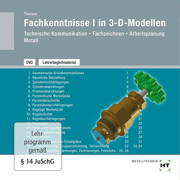 DVD - Fachkenntnisse I in 3-D-Modellen - Coverbild