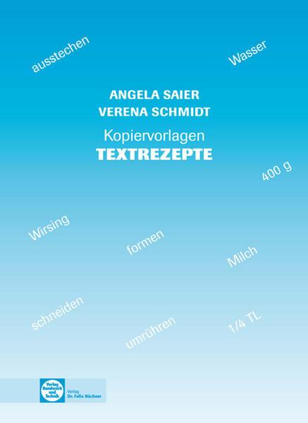 Textrezepte - Coverbild