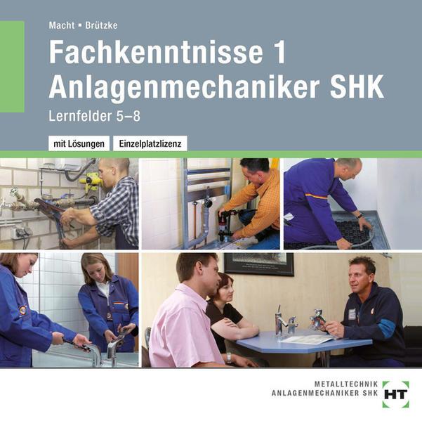 CD-ROM - Fachkenntnisse 1 Anlagenmechaniker SHK - Coverbild