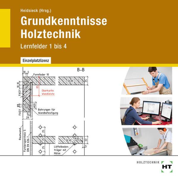 Grundkenntnisse Holztechnik - Coverbild