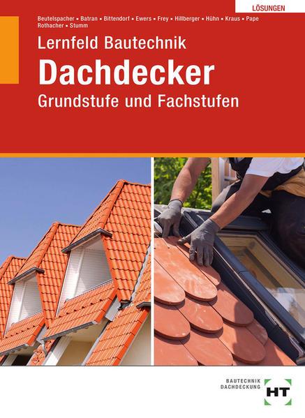 Grundstufe und Fachstufen - Dachdecker - Coverbild