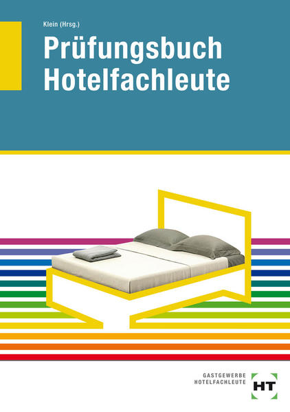 Prüfungsbuch Hotelfachleute - Coverbild
