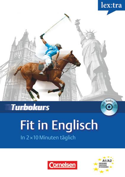 Lextra - Englisch - Turbokurs / A1/A2 - Fit in Englisch - Coverbild