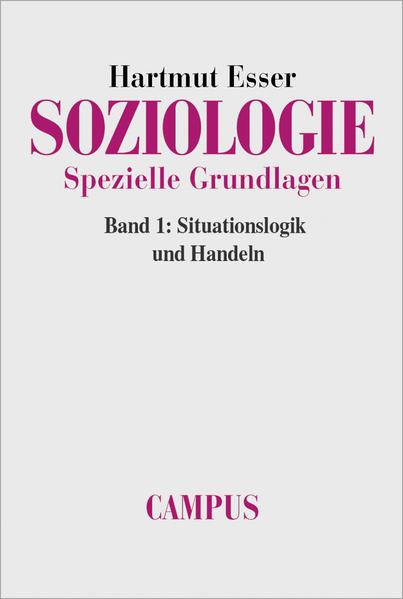 Soziologie. Spezielle Grundlagen                                                                                         - Coverbild