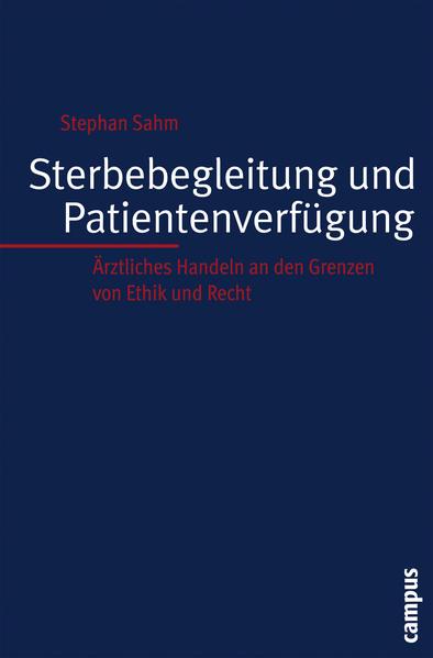 Sterbebegleitung und Patientenverfügung - Coverbild