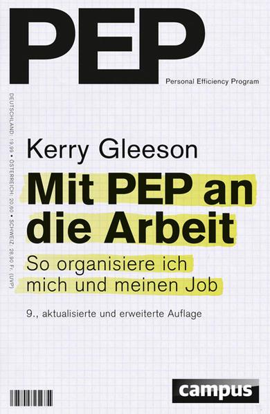 Mit PEP an die Arbeit - Coverbild