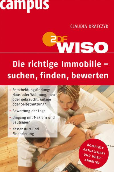 WISO: Die richtige Immobilie - suchen, finden, bewerten - Coverbild