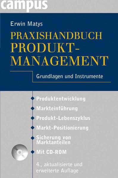 Praxishandbuch Produktmanagement - Coverbild