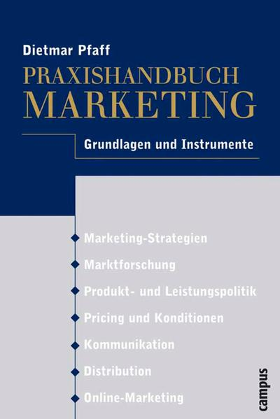 Praxishandbuch Marketing - Coverbild