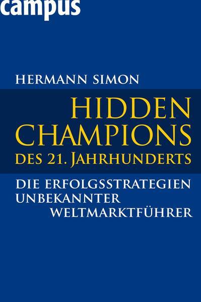 Hidden Champions des 21. Jahrhunderts - Coverbild